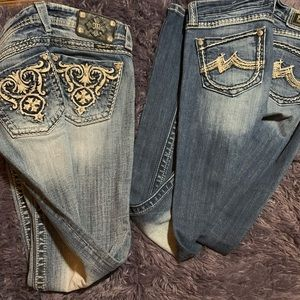 Miss Me  distressed Jeans -,